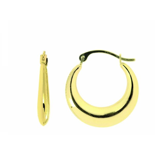 Graduated Hoop Earrings Martin Busch Inc. New York, NY