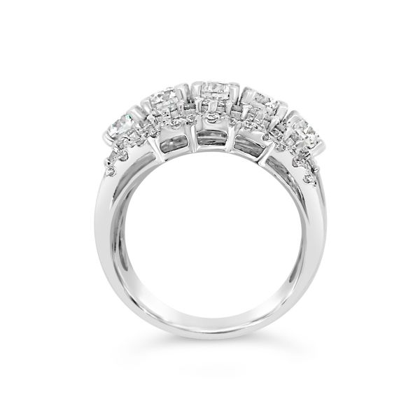 18KW Forevermark Diamond Ring Image 2 Padis Jewelry San Francisco, CA