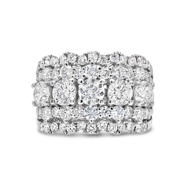 18KW Forevermark Diamond Ring Padis Jewelry San Francisco, CA