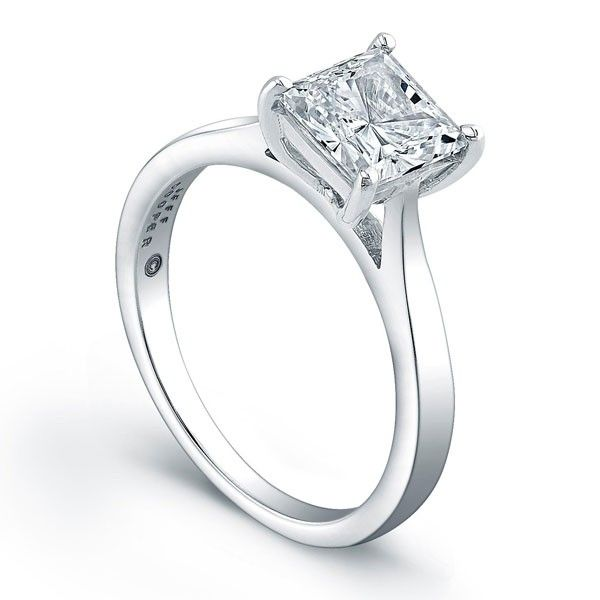 Tapered Engagement Ring | Jeff Cooper Designs | Style No. 001-730-00813 R3268/W
