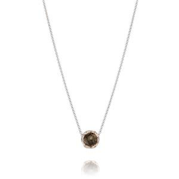 Tacori Color Medley Collection | Sterling Silver Smokey Quartz Necklace | Style No. 001-761-01090 SN204P14