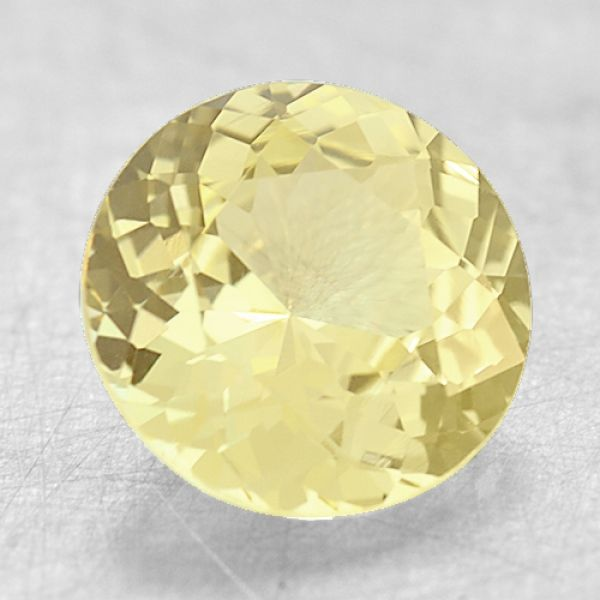 6.3mm Round Yellow Sapphire Padis Jewelry San Francisco, CA