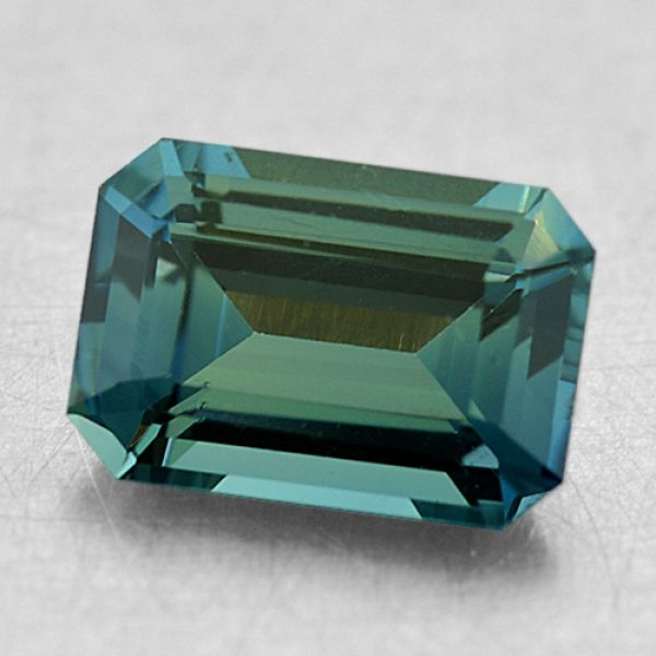 6.5x4.5mm Emerald Teal Sapphire Padis Jewelry San Francisco, CA
