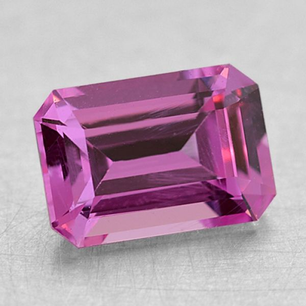 6.4x4.5mm Emerald Pink Sapphire Padis Jewelry San Francisco, CA