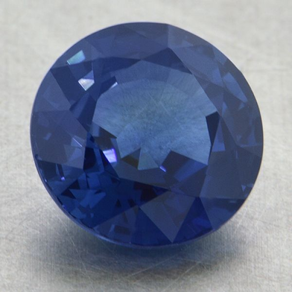 7.5mm Round Blue Sapphire Padis Jewelry San Francisco, CA