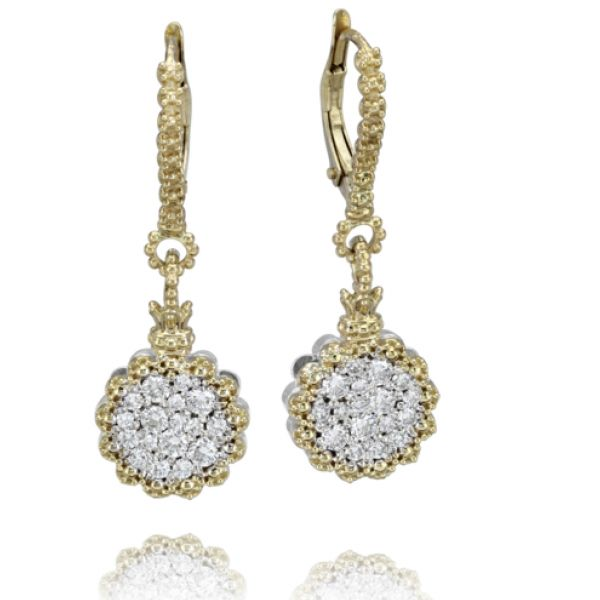 14k Gold Earrings with Diamonds Parris Jewelers Hattiesburg, MS