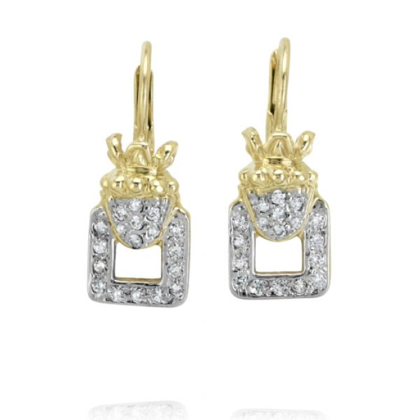 14k Gold and Diamond Earrings Parris Jewelers Hattiesburg, MS