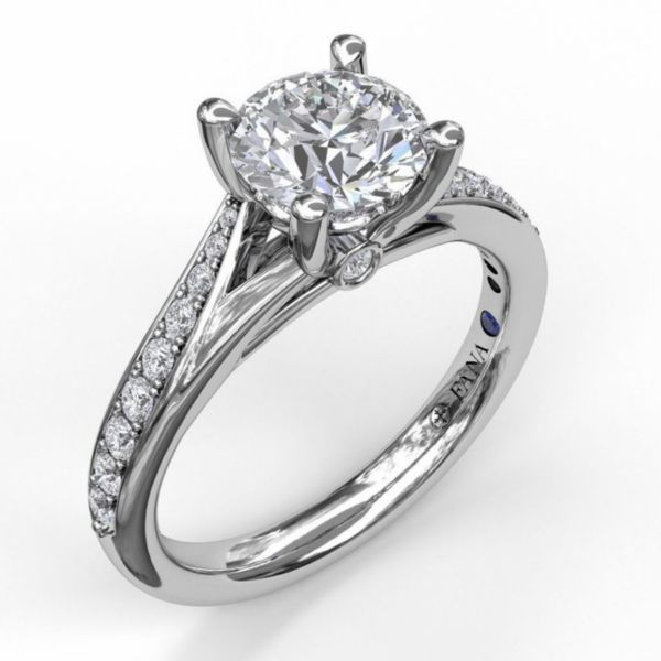 Designer Split Band Engagement Ring Parris Jewelers Hattiesburg, MS
