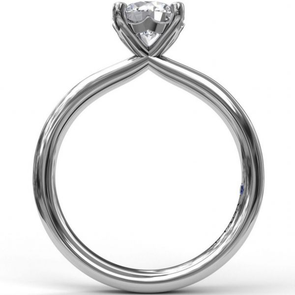 Timeless Round Cut Solitaire Engagement Ring Image 2  ,