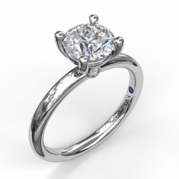 Classic Round Cut Solitaire Engagement Ring Parris Jewelers Hattiesburg, MS