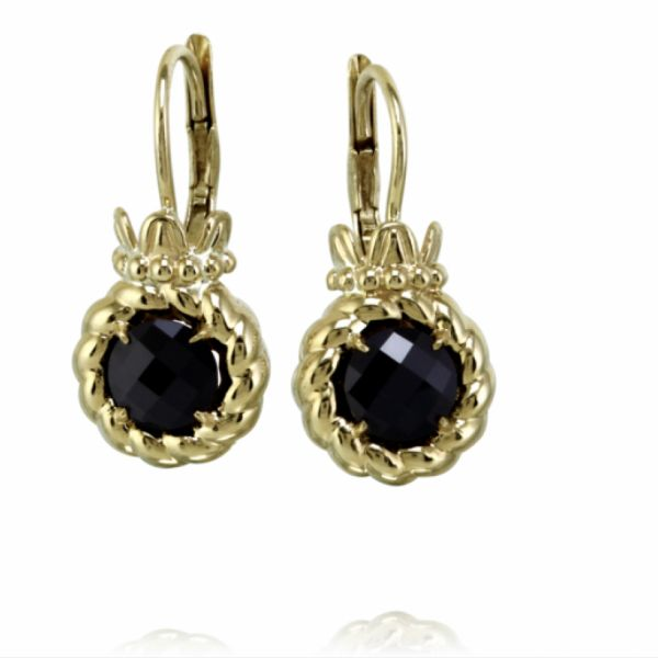 14k Gold with Black Onyx Parris Jewelers Hattiesburg, MS