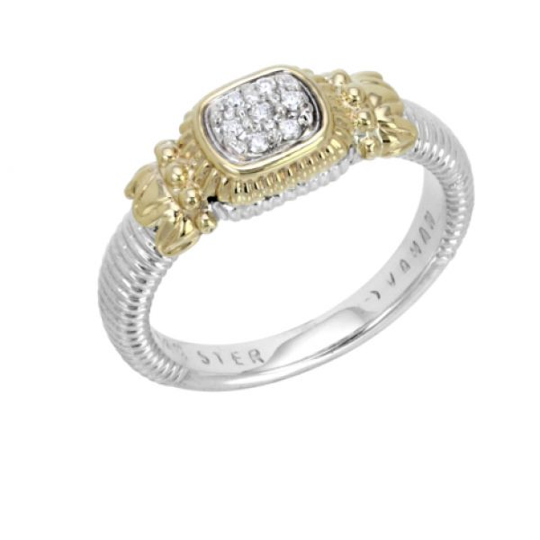 Sterling Silver and 14k Gold with Diamonds Parris Jewelers Hattiesburg, MS