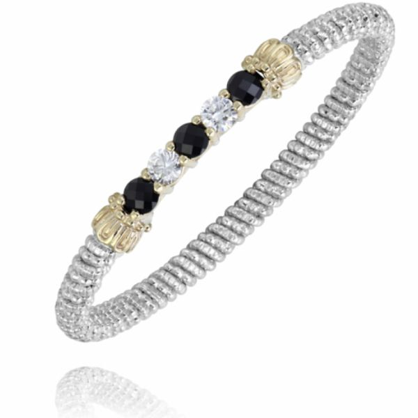 Sterling Silver and 14k Gold- Black Onyx Parris Jewelers Hattiesburg, MS