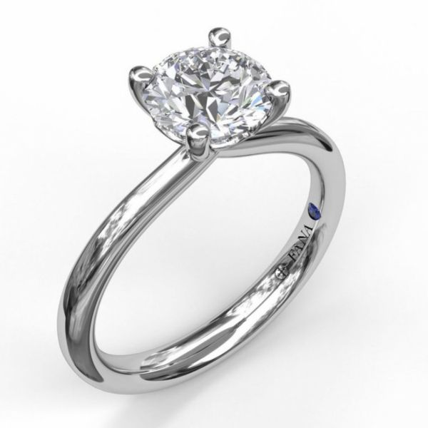 Timeless Round Cut Solitaire Engagement Ring Parris Jewelers Hattiesburg, MS