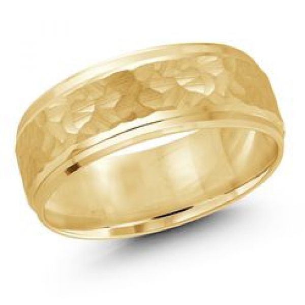 Men's wedding band Image 2  ,
