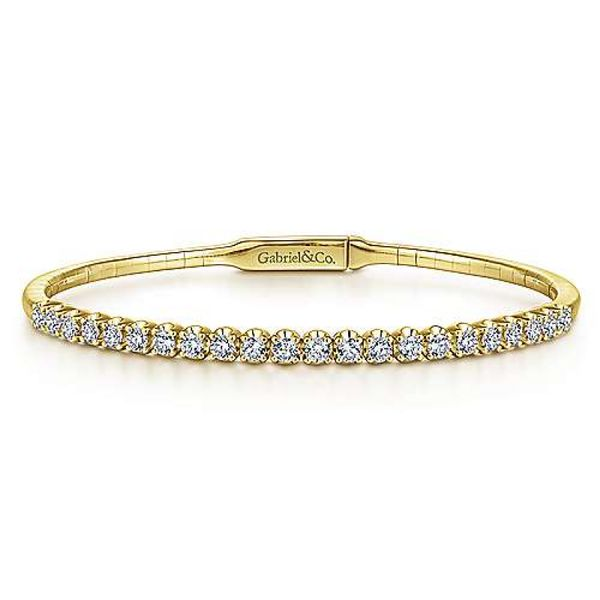Ladies Diamond Bangle Bracelet Polly's Fine Jewelry N. Charleston, SC