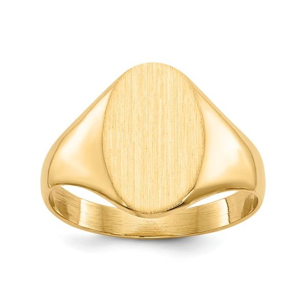 Yellow Gold Signet Ring Polly's Fine Jewelry N. Charleston, SC