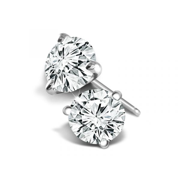Hand-selected Diamond Studs Polly's Fine Jewelry N. Charleston, SC