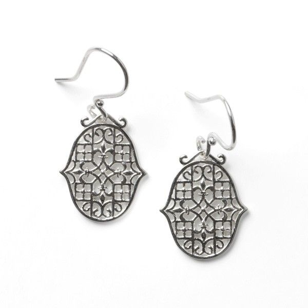 Gate Biltmore Fleur De Lis Earrings Polly's Fine Jewelry N. Charleston, SC