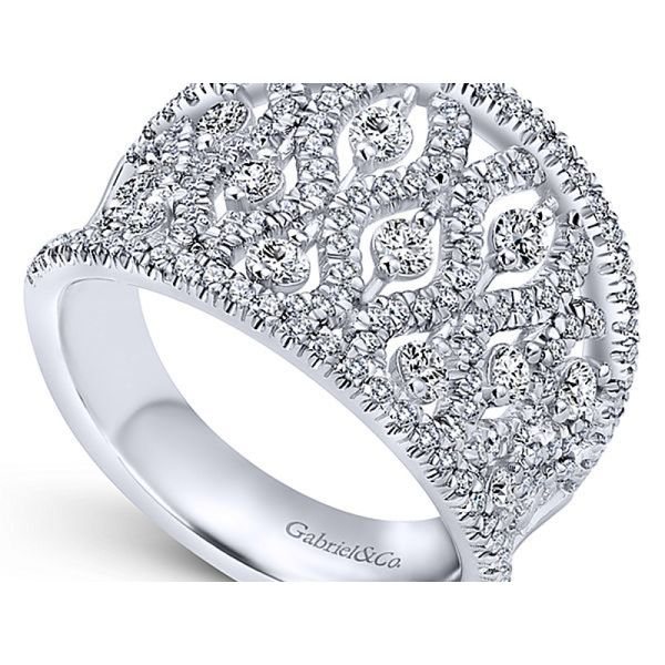 Ladies Diamond Fashion Ring Image 2 Polly's Fine Jewelry N. Charleston, SC