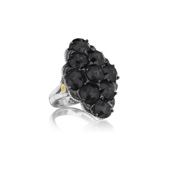 City Lights After Dark Gem Cluster Ring Polly's Fine Jewelry N. Charleston, SC
