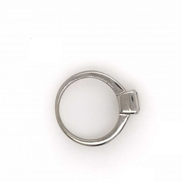 Pre-owned Invisible set Diamond Ring Image 3  ,