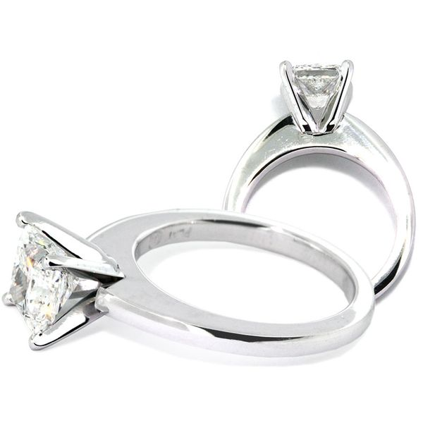 Lauren sleek platinum solitaire - image 2