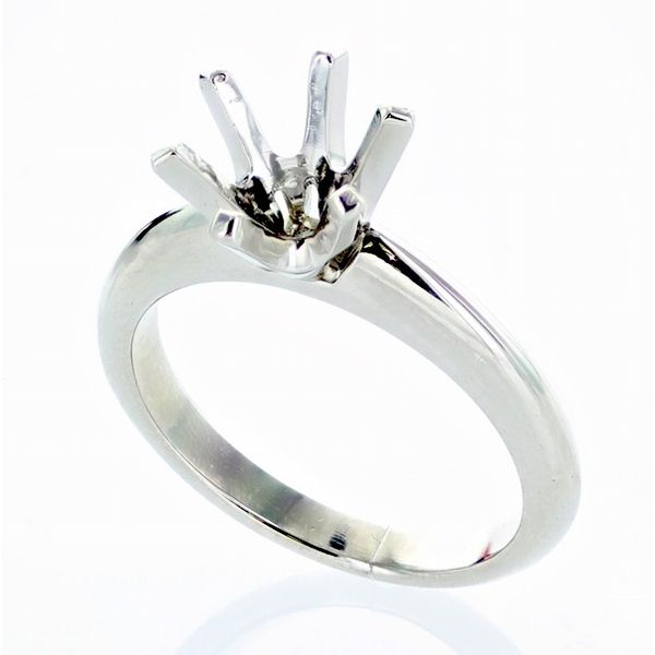 Plat. Crown Head Solitaire