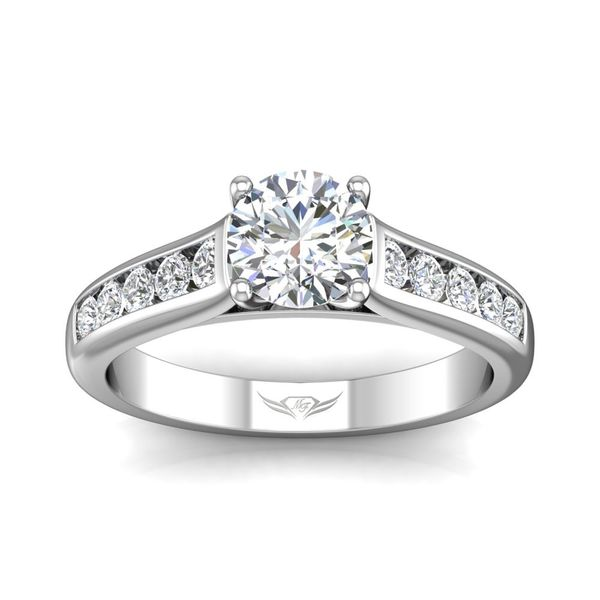 14K White Gold Engagement Ring Image 3 Washington Diamond Falls Church, VA