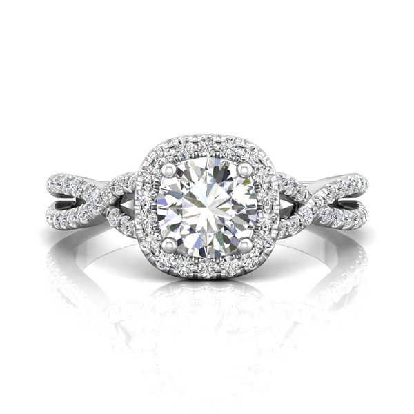 14K White Gold Engagement Ring Washington Diamond Falls Church, VA