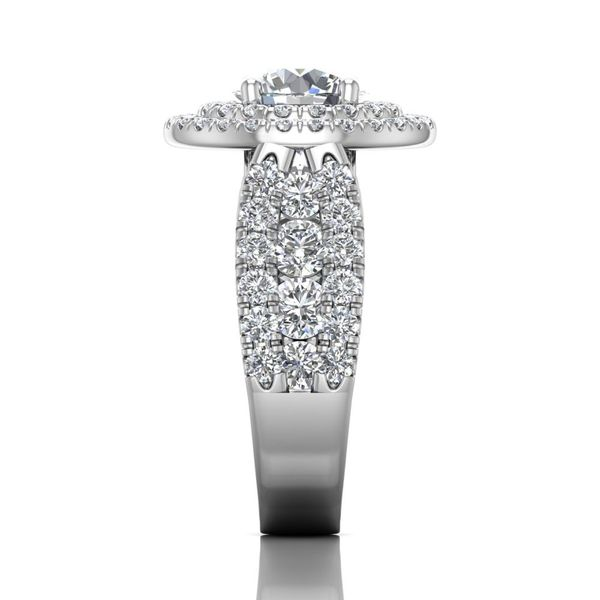 14K White Gold Engagement Ring Image 4 Washington Diamond Falls Church, VA