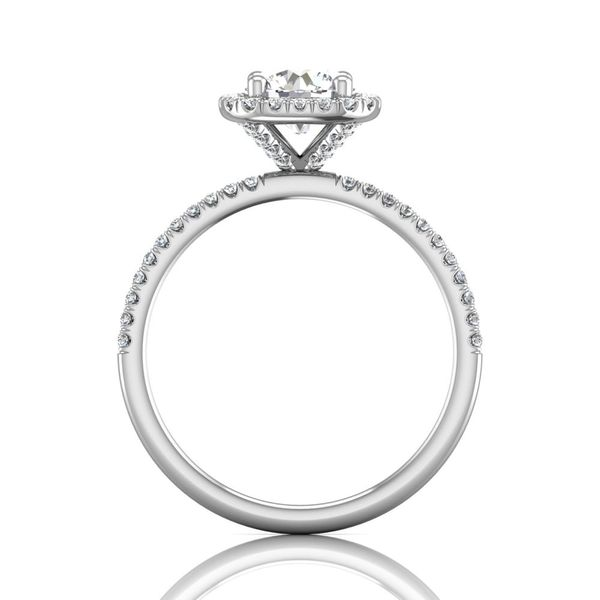 14K White Gold Engagement Ring Image 2 Washington Diamond Falls Church, VA