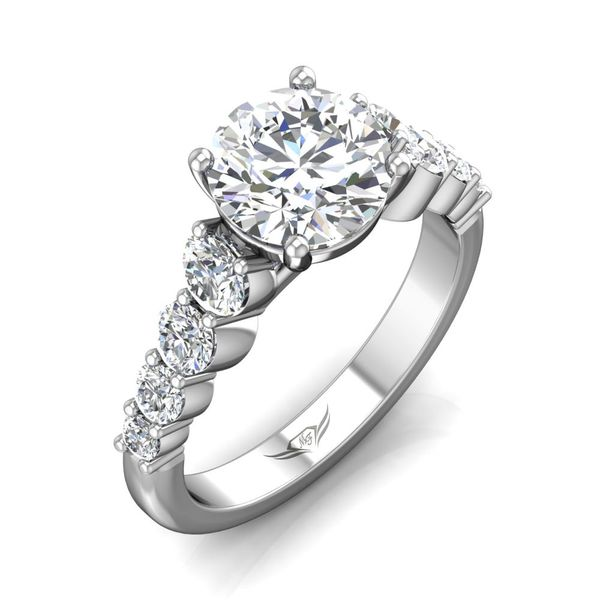 14K White Gold Engagement Ring Image 5 Washington Diamond Falls Church, VA