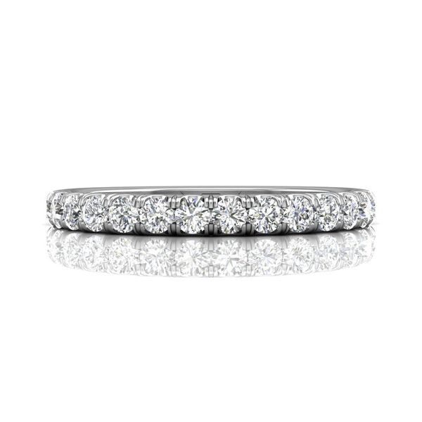14K White Gold Wedding Band Washington Diamond Falls Church, VA