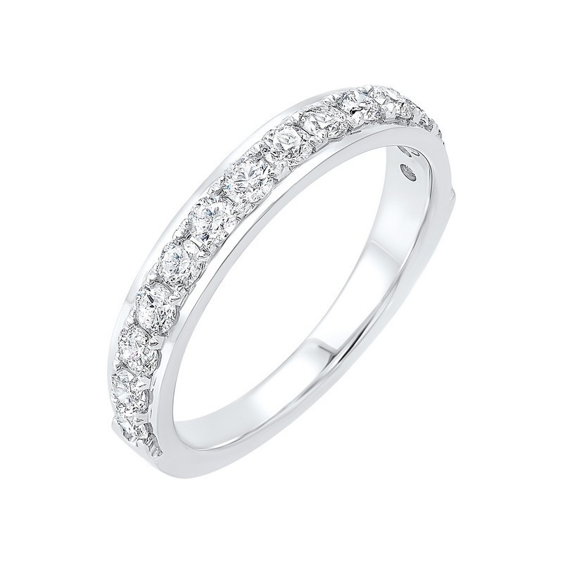 14K White Gold Overtures Micro Prong Diamond Ring (1/10 Ct. Tw.)