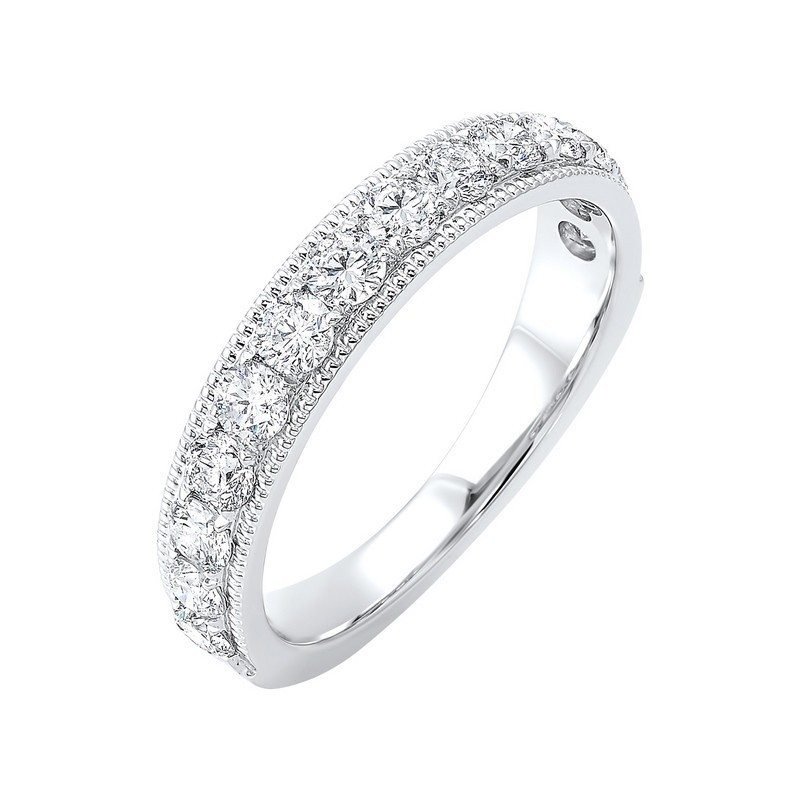 14K White Gold Overtures Micro Prong Diamond Ring (1/4 Ct. Tw.)