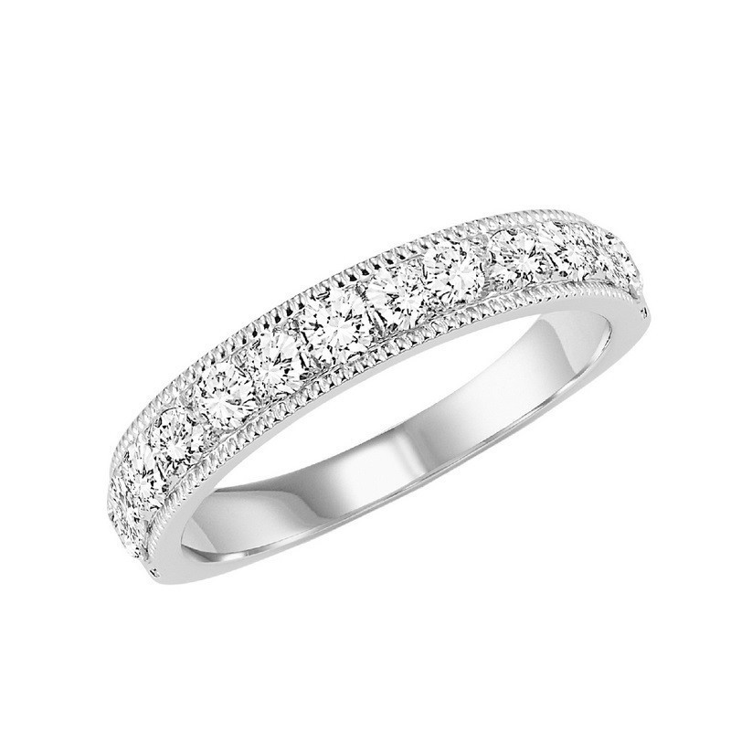 14K White Gold Overtures Micro Prong Diamond Ring (3/4 Ct. Tw.)