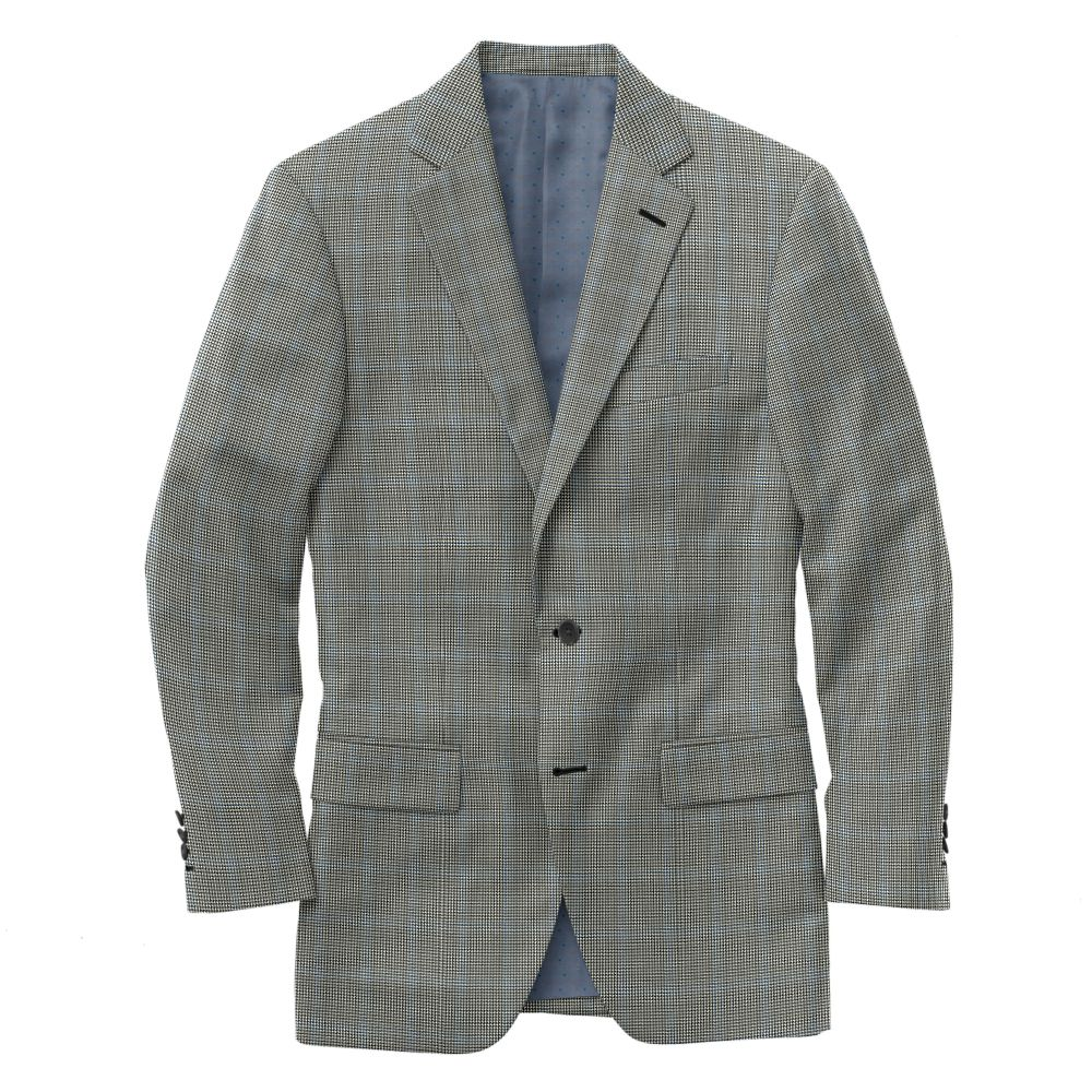 Charcoal Royal Houndstooth Windowpane
