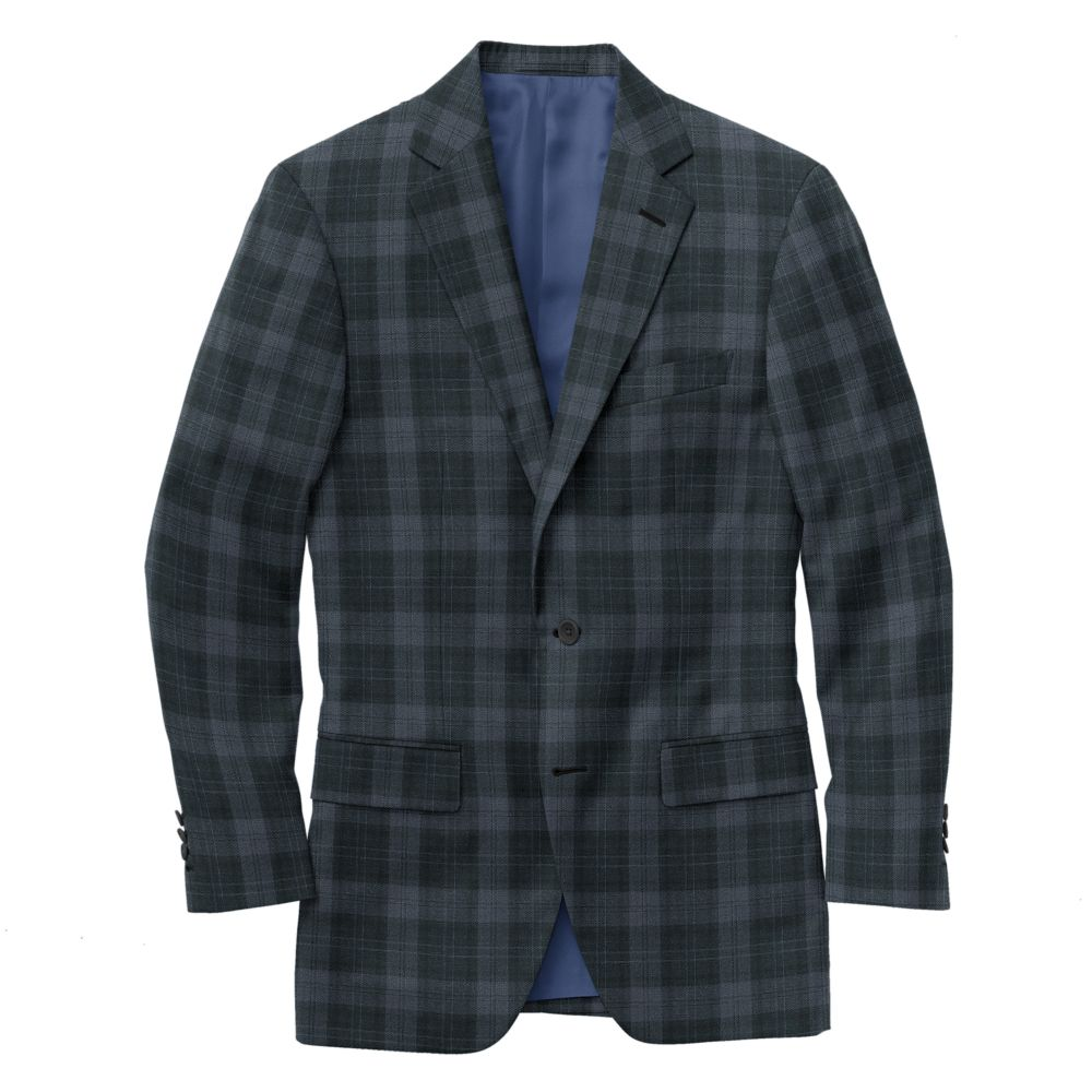Char Blue Plaid