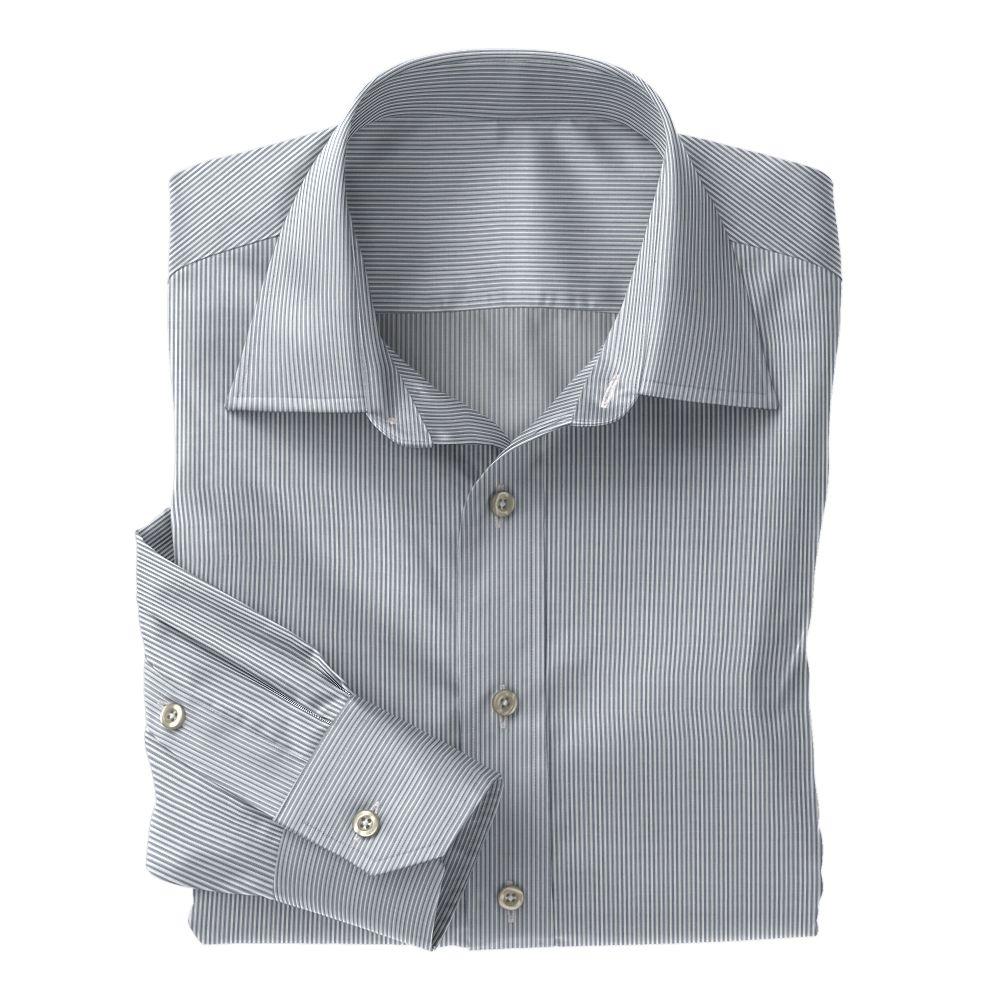 Gray Mini Bengal Stripe 100s