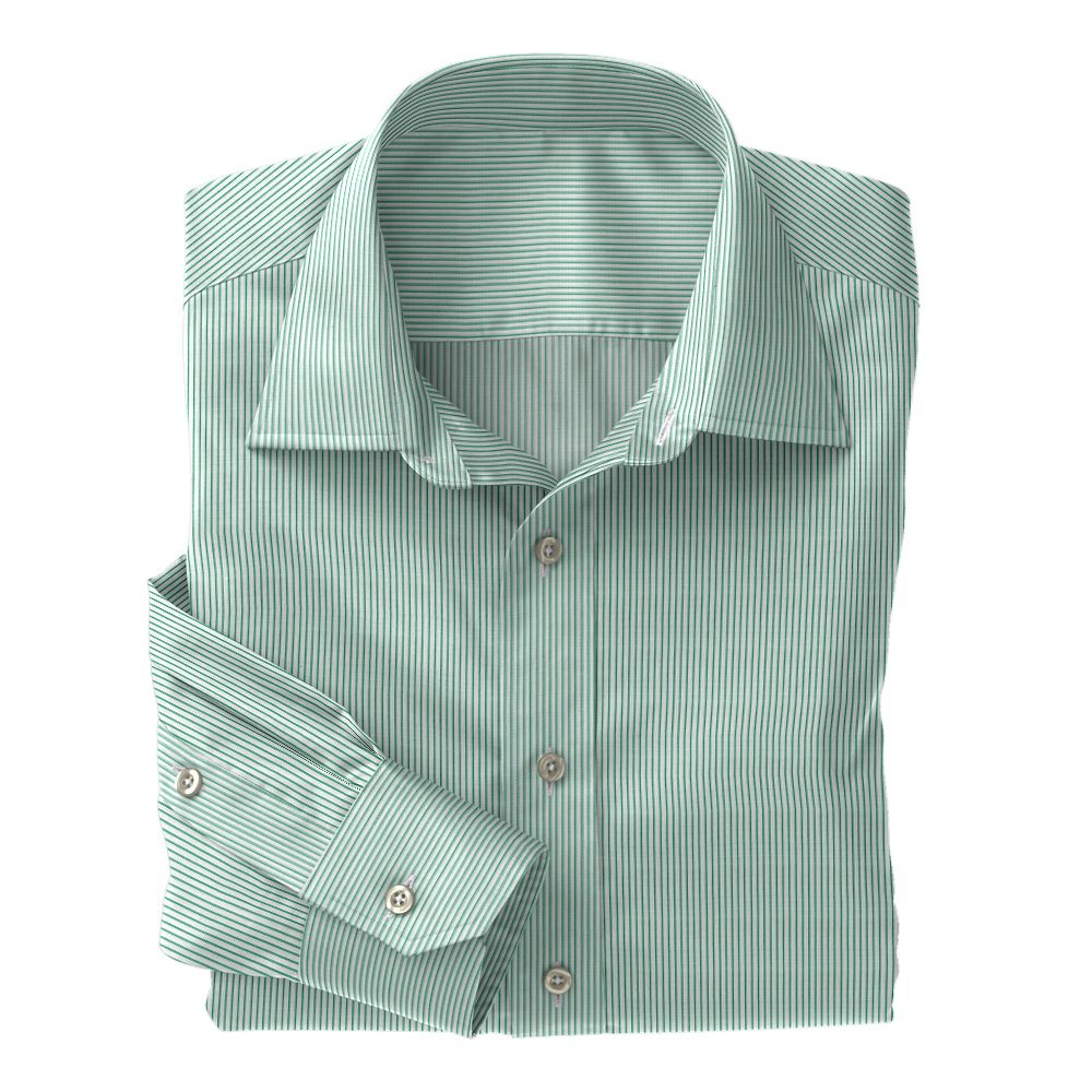 Green Classic Stripe 100s