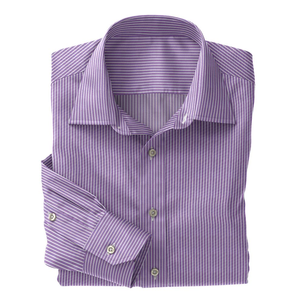 Lavender Metro Stripe 100s