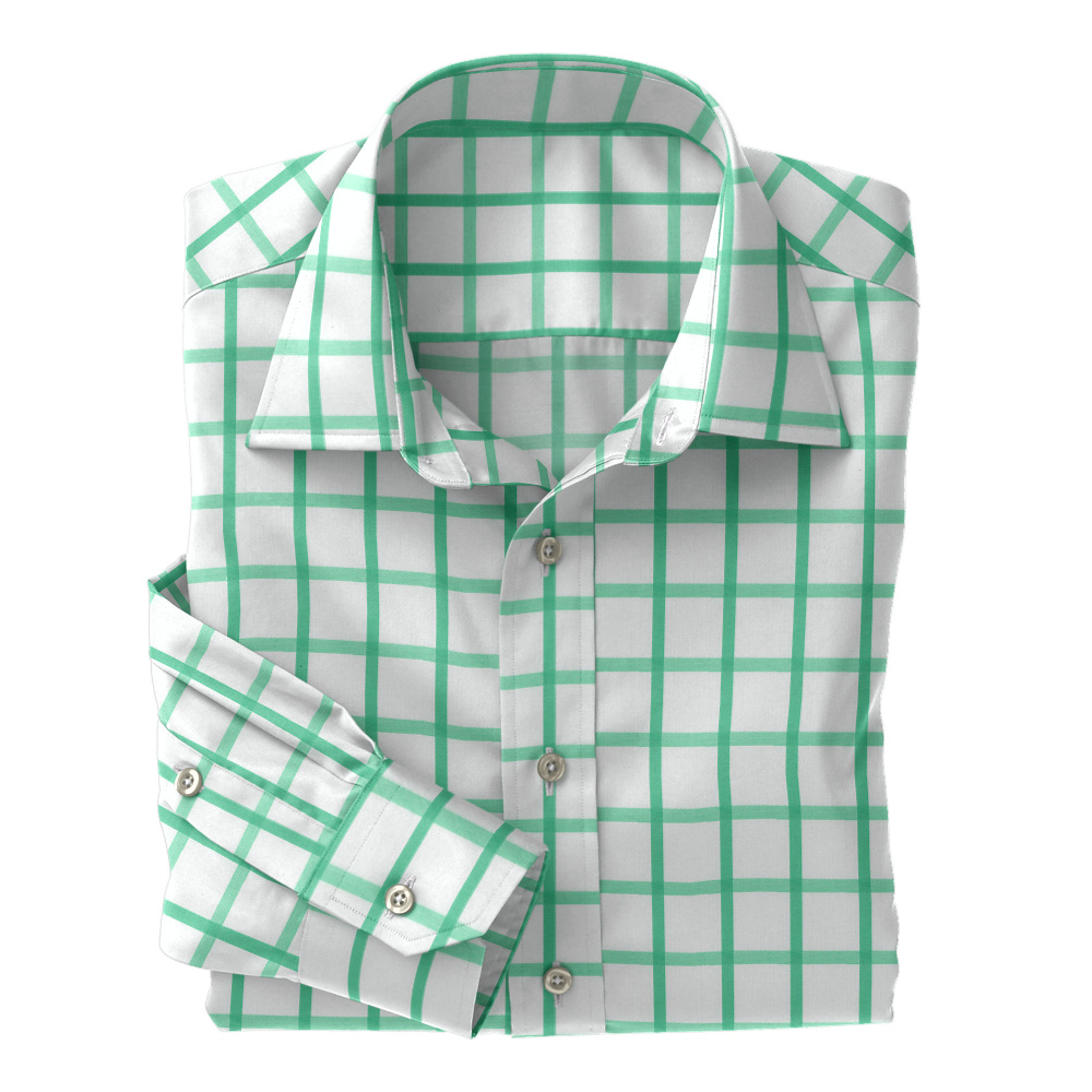 Light Green Large Check