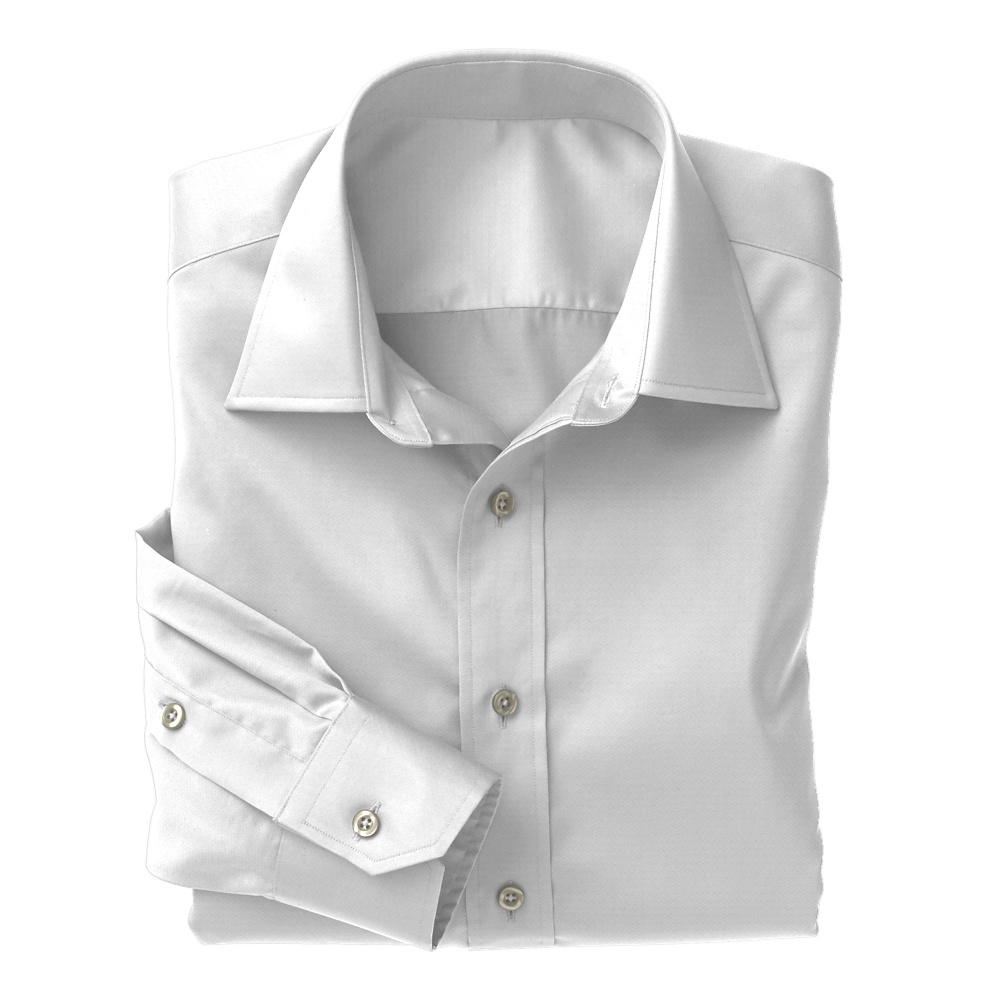 White Foulard Weave