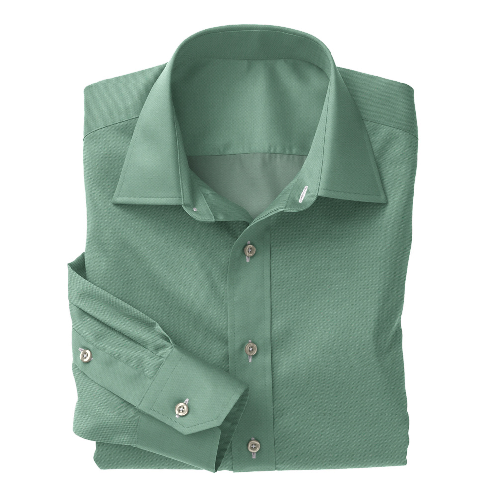 Green Twill Solid