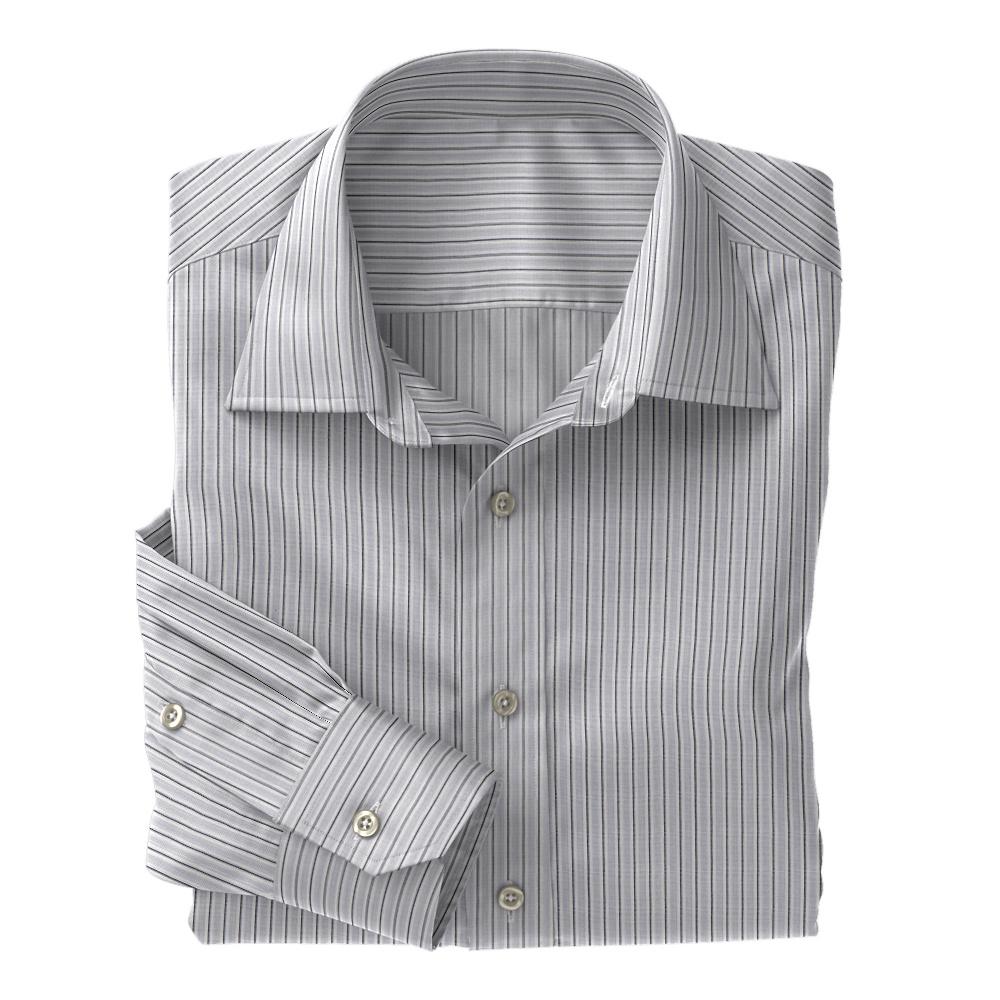 Grey Fancy Stripe