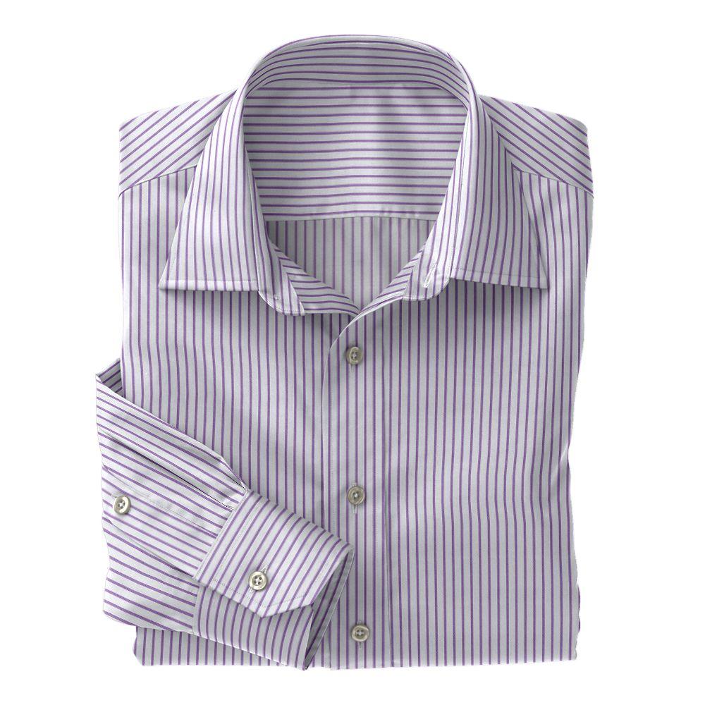 Lavender Twill Stripe 100s