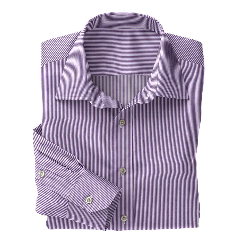 Lavender Classi Bengal Stripe 100s