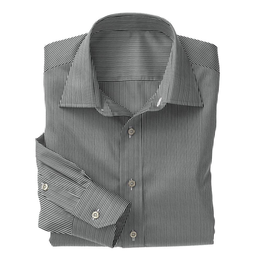 Black Classi Bengal Stripe 100s