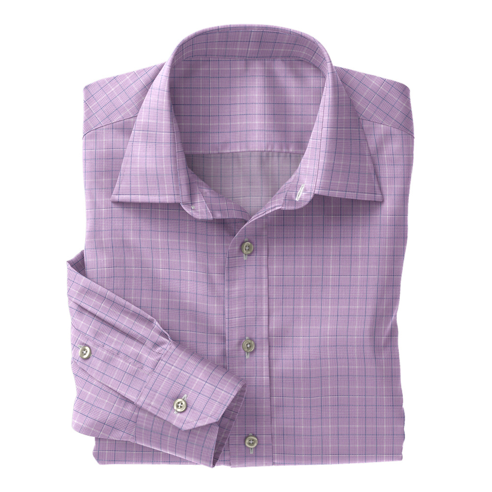 Lavender Glen Plaid